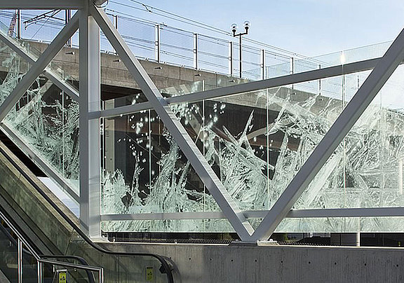 Laser-finished glass