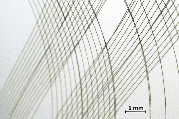 LASER structuring of chromium layer